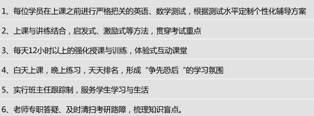 深圳MBA工商管理硕士考研系统课程