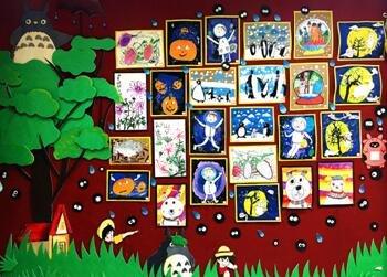 苏州4-6岁艺术实验绘画课程