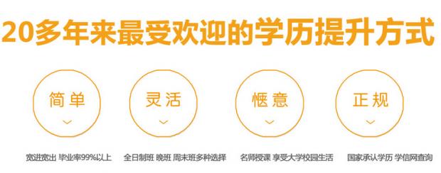 2017北京航空航天大学成人高考课程