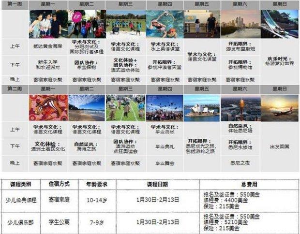 北京2017澳大利亚黄金海岸冬令营