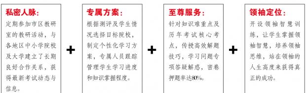 2017北京艺术特长生文化辅导课程