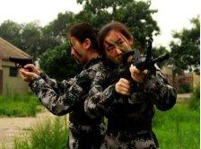 北京海淀区医疗救护少女军官集训营