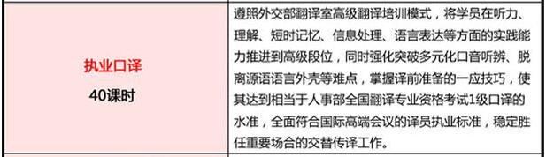 2017北京执业口译精品课程