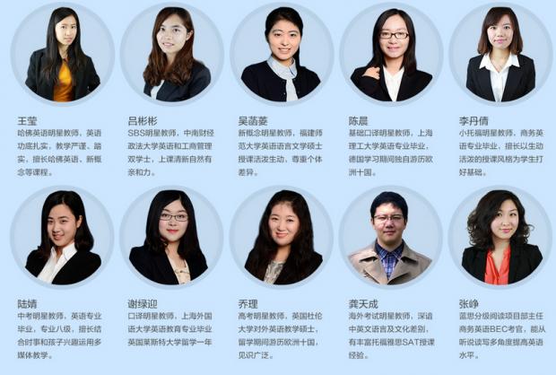 2017上海全日制英语等级培训课程