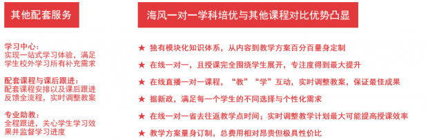 上海高中学科培优拓展提升课程