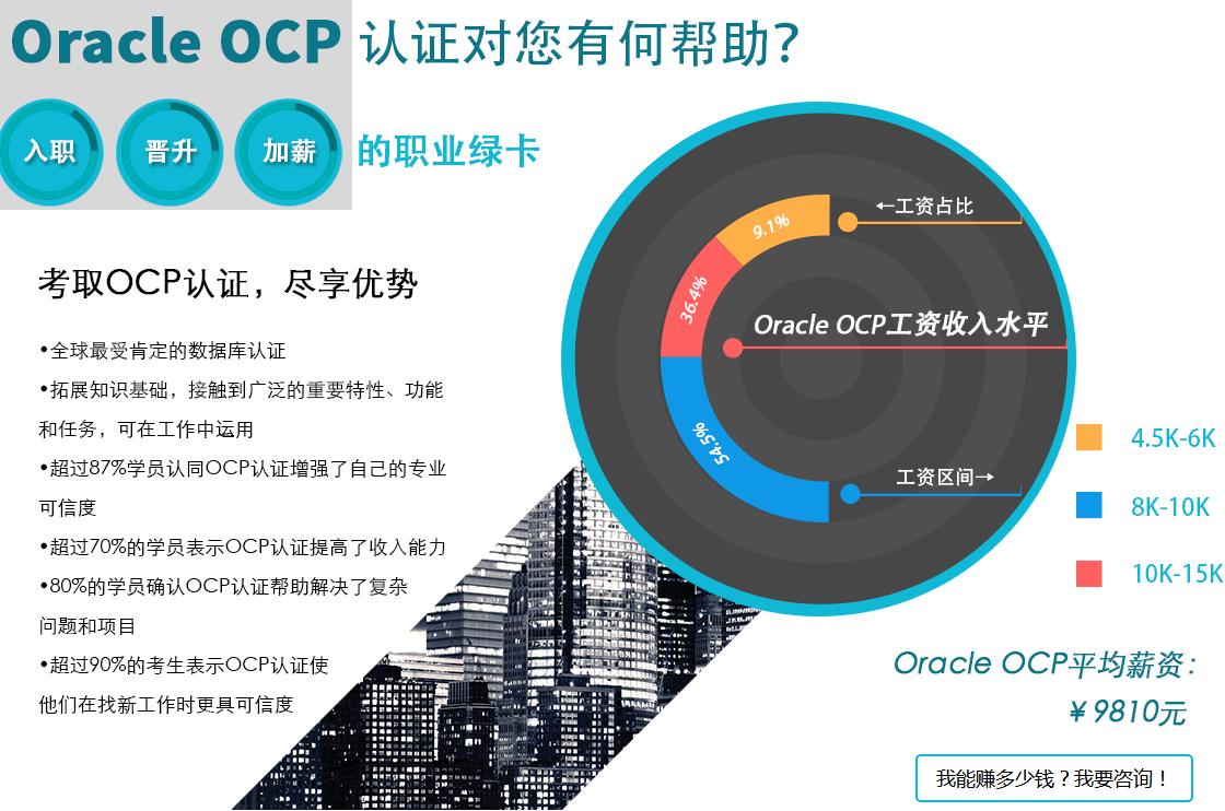 长沙ocp认证专家课程