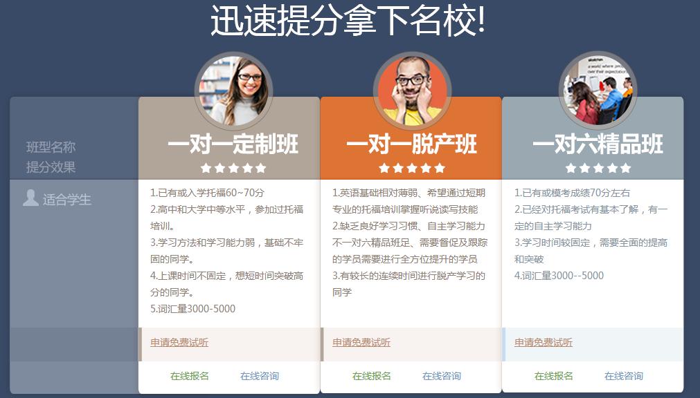 北京精品托福提分课程培训