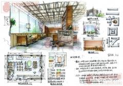 南京室内手绘培训、南京手绘快题手绘表现全程班