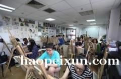 上海美术绘画培训班、用色彩编织梦想、用画笔勾勒明天