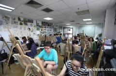 上海美术培训、运用互动教学模式和形象生动的教学方法