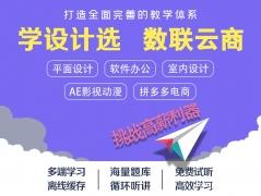 沈阳数联云商平面设计广告设计零基础学习培训